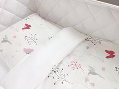 Die neue Bettwäsche-Kollektion Hummingbird in wenigen Tagen im Shop erhältlich www.effii-kids.de