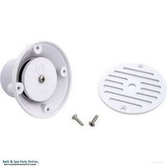 "Hayward Grate Adjustable Inlet Fitting [1-1/2"" FPT] [White] (SP1424)"