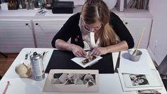 Craft Online Courses | Domestika Frankenstein, Advanced Embroidery, Create Collage, Blackwork Embroidery, Collage Techniques, Craft Online, Photo Composition, New Crafts, Embroidery Techniques