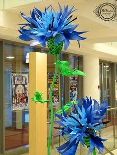 giant flowers great décor masterclass video lesson www.flofra « Блог Флориста, Кемерово, цветы, букеты, композиции, коллажи, уроки