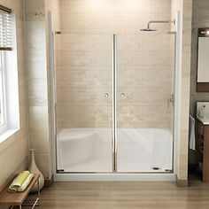 Exceptionnel MAAX Essence 6030 Low Threshold Shower Base With Integrated Left Hand Seat  Works With Wall Set 1000744390 For The Complete Shower Look. $398
