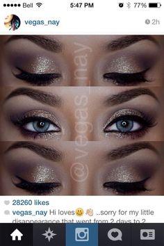 Eye Make Up For Blue Eyes by emma-q