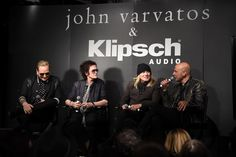 John Varvatos Hosts Intimate Conversation With Matt Sorum Glenn Hughes and Robin Zander