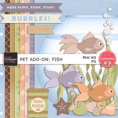 mini kit, fish mini, pets, minis, freebi kit