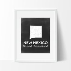 New Mexico Printable by SamanthaLeigh on Etsy
