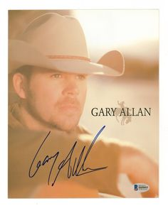 Buy online, view images and see past prices for Gary Allan Signed Color Photo Beckett COA. Gospel Music, My Music, Gary Allan, Music Quotes, Concerts, Country Music, Beats, Mad, June