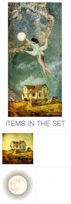 """""""Moonrise"""" by pensivepeacock ❤ liked on Polyvore featuring art and surreal"""