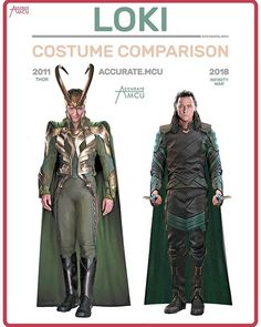 how marvel costumes have changed throughout the years 7 How Marvel costumes have changed throughout the years Photos) Costume Loki, Costumes Marvel, Loki Cosplay, Loki Halloween Costume, Marvel Avengers, Marvel Funny, Marvel Dc Comics, Marvel Heroes, Loki Laufeyson