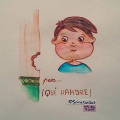 Ñamm ñammm... #undibujoparacadadía #71 #diary #hambre #cena #illustration #design #art #sketchbook #doodle #watercolor #drawing #inktober #artist #sketcheveryday