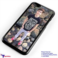 Nash Grier, magcon boy 2 - Personalized iPhone 7 Case, iPhone 6/6S Plus, 5 5S SE, 7S Plus, Samsung Galaxy S5 S6 S7 S8 Case, and Other