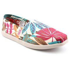 Skechers Womens Beige Bobs Botanical Gardens Slip-on Shoes < Way cool!