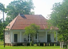 Overseer's house at Oakland Plantation, Natchitoches Parish IMG 3483 - Oakland Plantation (Natchitoches, Louisiana) - Wikipedia, the free encyclopedia