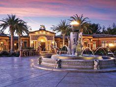 33,500 square-foot Venetian-style villa, Cambria, California