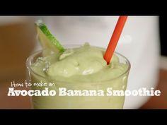 Avocado Banana Smoothie | Wholly Guacamole