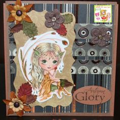 Audrey's (Hippieaud's) Blog: Anything Goes with Twist of Die Cuts/Punches at Julia Spiri Challenge!