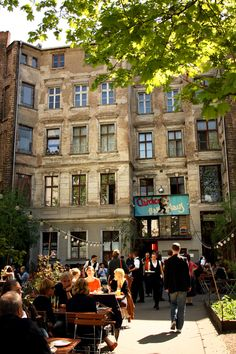 Berlin Travel - 3 days city trip | Clärchens Ballhaus