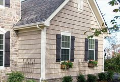 Shaker Siding Accents On House Pictures Power Wall