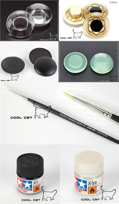 August 11, 2014: Ordered from Cool Cat; couple pairs of eye chips and painting needs.