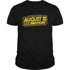 Birthday On August 21 2017 TShirt Total Solar Eclipse.