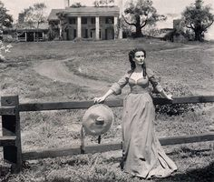 (via *Production still from the deleted final scene of 'Gone With … | Pe…)