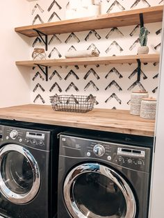 Laundry Room Remodel, Laundry In Bathroom, Small Laundry, Laundry Room Makeovers, Laundry Room Pedestal, Laundry Closet Makeover, Laundry Room Design, Laundry Room Organization, Laundry Room Shelving