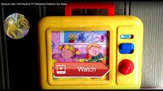 Shelcore ABC Musical TV Television Childrens Toy Video ABC Musical Television Childrens Toy Video By Shelcore Memory Lane Toys Games