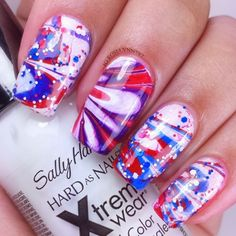 Red, White And Cool Ideas For Your 4th of July Nails - Makeup Tutorials
