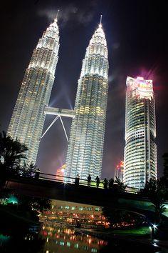 Petronas Towers Kuala Lumper Malayisa