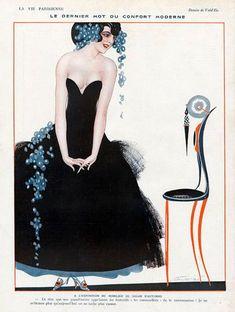 Le Dernier Mot du Confort Moderne ~  Louis Vallet (LVP 1916)