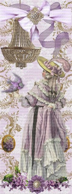 Lilac Antique Style Marie Antoinette And Lilacs Bookmark Design 3 You Print Vintage Bookmarks, Vintage Tags, Images Vintage, Vintage Pictures, Printable Tags, Printables, Card Tags, Cards, Lilacs