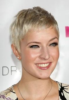 In this gallery, I share photos of super short, edgy hairstyles. You'll get tips on best products, how to style hair and ideas for your next cut.: Diablo Cody's Close Crop