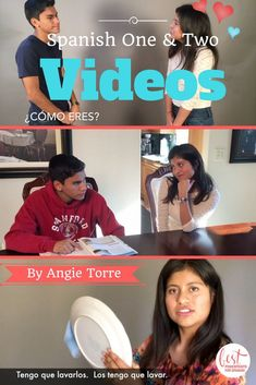20 Spanish Videos that provide comprehensible input for concepts and vocabulary of levels one and two: object pronouns, greetings, present progressive, ser, and much more.  Click here to see them all.