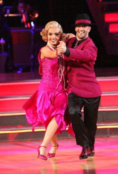Katherine Jenkins and Mark Ballas. Episode 1409 - Dancing With The Stars - ABC.com