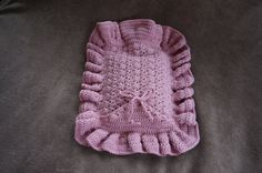 Crochet Pattern: The Cushion Hot Water Bottle by KristinInStitches