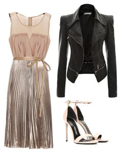 Designer Clothes, Shoes & Bags for Women Tom Ford, Valentino, Shoe Bag, Polyvore, Gold, Leather, Stuff To Buy, Shopping, Shoes