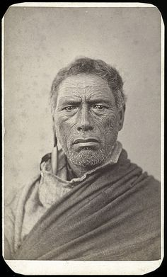 Te Whereo, a Chief of Waikato by National Maritime Museum, via Flickr
