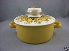 Midwinter Flowersong- Stonehenge tureen. - 970's by Jessie Tait - I have quite a bit of this range from the seventies, still love it and use it often.