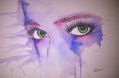 Soul's key watercolour by Tarryn-Strydom.deviantart.com on @DeviantArt