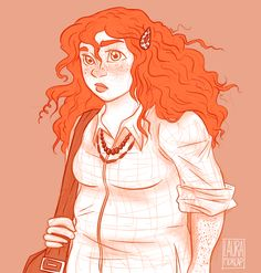 """lauramorcap: """" """"Eleanor was right. She never looked nice. She looked like art, and art wasn't supposed to look nice; it was supposed to make you feel something. Person Drawing, Book Drawing, Drawing People, How Soon Is Now, Eleanor And Park, Rainbow Rowell, Book Characters, Fictional Characters, Bojack Horseman"""