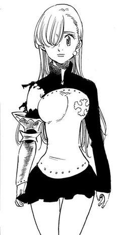 Элизабет ~ манга Otaku Anime, Anime Naruto, Manga Anime, Meliodas And Elizabeth, Elizabeth Liones, Seven Deadly Sins Anime, 7 Deadly Sins, Comic Manga, Manga Comics