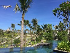 Deep blue skies, a pool to chill out in. What more could one ask for this #GoodFriday #RCMemories The Ritz-Carlton, Bali in Nusa Dua, Bali