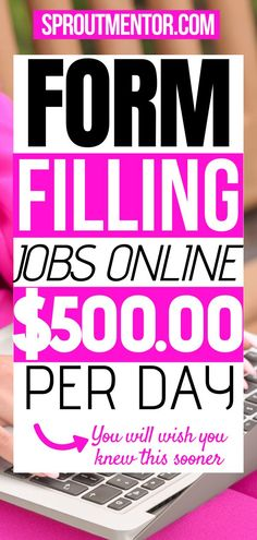 Looking for online form filling jobs without investment? Here are work from home form filling jobs hiring now! Looking for online form filling jobs without investment? Here are work from home form filling jobs hiring now! Earn Money From Home, Earn Money Online, Way To Make Money, Money Fast, Work From Home Opportunities, Work From Home Tips, New Job Vacancies, Typing Jobs, Hilario