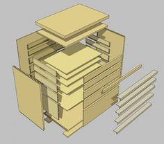 G:Current-ProjectsEHT-1drawer-4 Model (1)