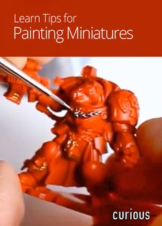 In this three-minute lesson, learn tips from Luke Barker Pro Painting on how to keep a steady hand as you paint your minifigs and how to keep your paint brushes clean and in good condition.