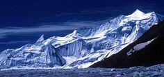 Amazing view of Upper Braldu peaks near Snow Lake , Pakistan.