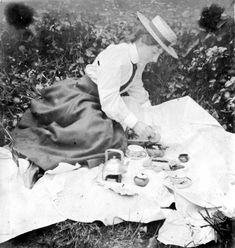 Victorian picnickers did not dream of eating outdoors without a kerosene burner to boil their kettles for tea. Thus, the true mark of a Victorian picnic is to make sure your food is more than cold cuts and chips. Prepare your menu as if you were hosting a proper meal in your home. And your dishes need not be overly rich or time-consuming to prepare; our Recipes section features a number of simple recipes for tea sandwiches that would be perfectly appealing for a picnic.