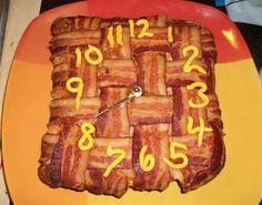 It's bacon o'clock!