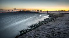 Poolbeg at sunrise - Dublin, Ireland - Seascape photography - If you like my pictures please support me buying a print from my shop http://www.pixael.com/en/shop thanks!  You can follow me on https://www.facebook.com/giuseppemilophoto https://twitter.com/pixael_com https://instagram.com/pixael/