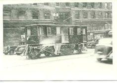Capital Transit Snow Sweeper #020 (1940).