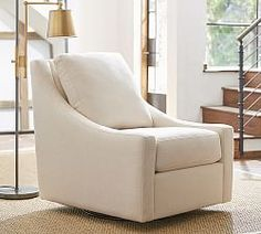Upholstered Chairs & Slipcovered Chairs | Pottery Barn
